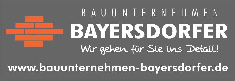 Bayersdorfer Bauunternehmen
