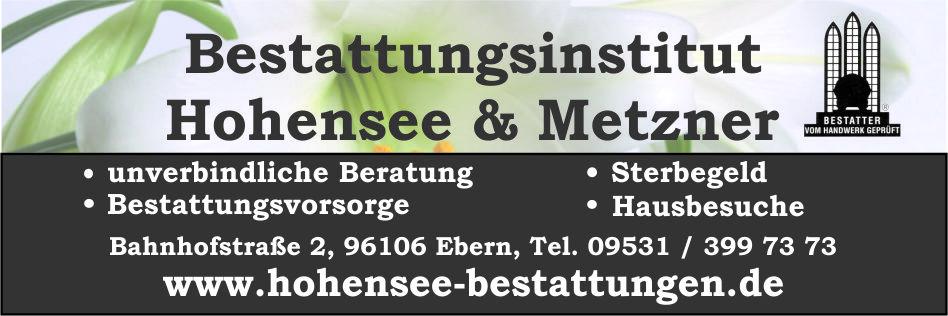 Bestattung Hohensee