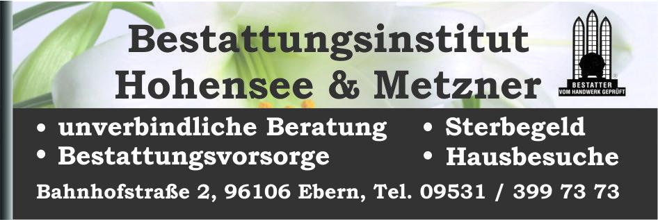 Bestattungsinstitut Hohensee&Metzner