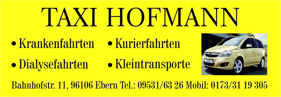Taxi Hofmann